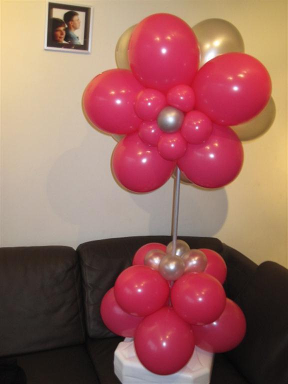Groot Sierwerk Roze Zilver