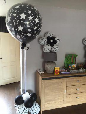 Versiering met helium